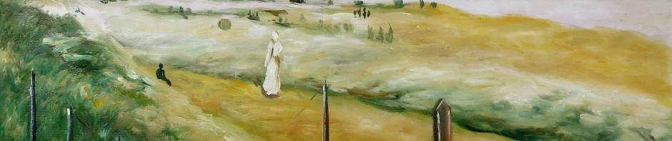 Kopie: Max Liebermann, Dünenpromenade