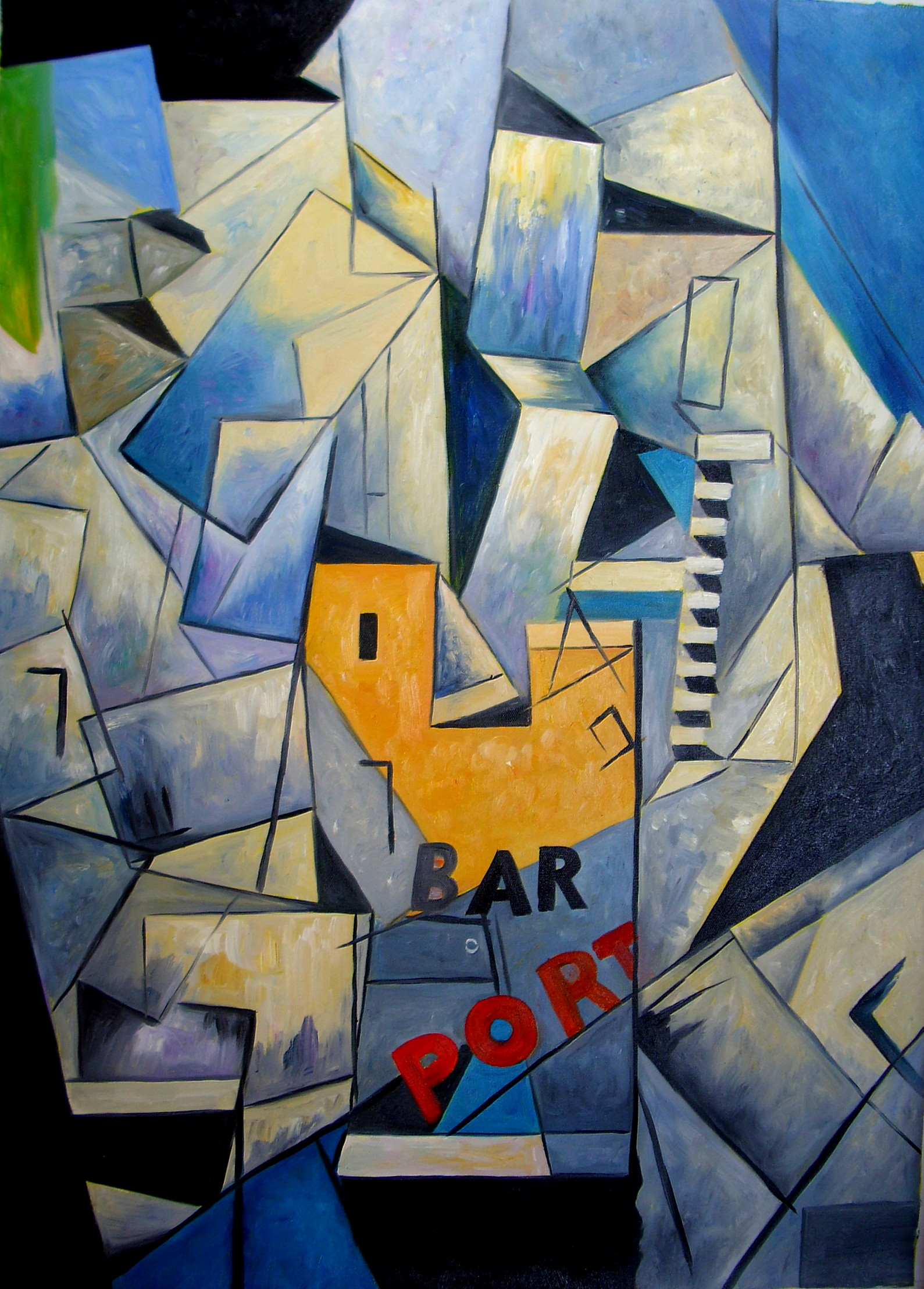 Kopie: Louis Marcoussis, Bar du Port, 180 Euro (50x70 cm)
