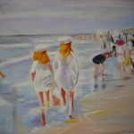 Kopie: Max Liebermann, am Strand, 179 Euro (60x80cm)