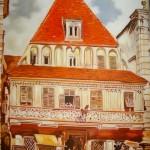 Kopie: Rudolf v. Alt, Bummerlhaus, 159 Euro (40x60cm)