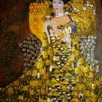 Handgemaltes Ölgemälde: Gustav Klimt, Adele Bloch-Bauer (Kopie)