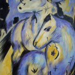 Franz Marc: Kopie: Turm der Blauen Pferde