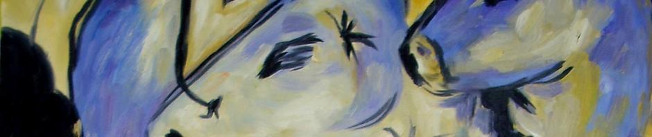 Franz Marc, Turm der Blauen Pfere, Kopie, Detail