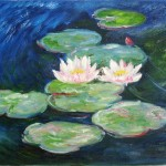 Kopie: Claude Monet, Seerosen, 30x50 cm, 120 Euro