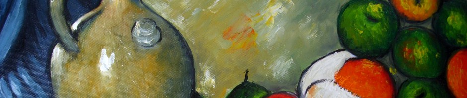Kopie: Paul Cézanne, Stilleben, 140 Euro