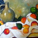 Kopie: Cézanne, Stilleben, 40x50 cm, 140 Euro