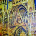 Kopie: Monet, Kathedrale von Rouen (Detail)