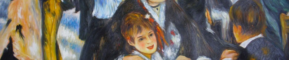 """Meisterkopie: Renoirs """"Bal du moulin de la Galette"""", 80x100 cm, 310 Euro"""