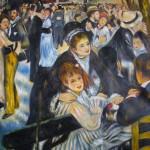 """Kopie: Renoirs """"Bal du moulin de la Galette"""", 80×100 cm, 310 Euro"""