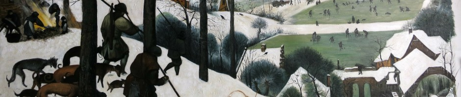 Pieter Bruegel, Jäger im Schnee, Reproduktion