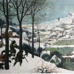 Reproduktion: Pieter Bruegel, Jäger im Schnee, 80x100 cm, 340 Euro