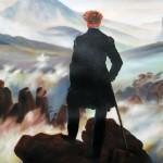 Kopie: Caspar David Friedrich, Der Wanderer über dem Nebelmeer