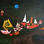 Reproduktion: Paul Klee, Abfahrt der Schiffe