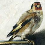 Der Distelfink: Hier ein Detail unserer Meisterkopie