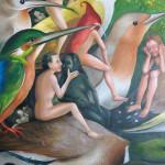 Kopie: Hieronymus Bosch, Garten der Lüste, Detail