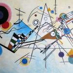"Unsere Kopie von Kandinskys ""Komposition VIII"""