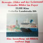 Peter Japp: Ausstellung im Elbe-Kino