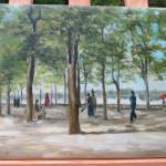 Reproduktion: Vincent Van Gogh, Jardin du Luxembourg